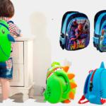 Распродажа детских рюкзаков Clim. Детские 3D рюкзачки Nohoo