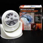 Cordless light светильник с датчиком движения