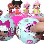 Куклы LOL — сюрприз в шаре