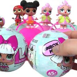 Куклы LOL - сюрприз в шаре