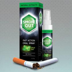 Smoke Out - спрей против курения, мой отзыв