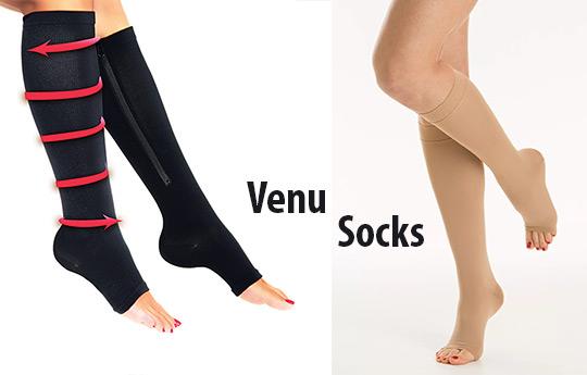 VenuSocks - компрессионные гольфы от варикоза вен