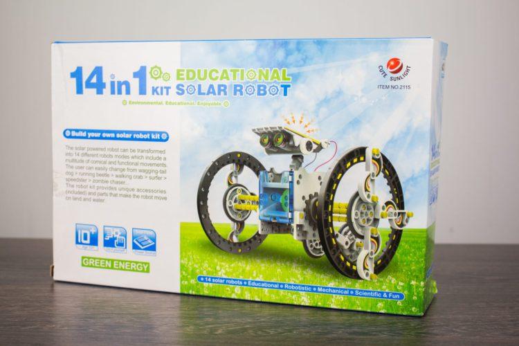 Конструктор Solar 14 в 1 - увлекательная игрушка
