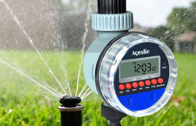 Отзыв на шаровой таймер для полива Aqualin