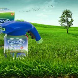 Жидкий газон Нydro Mousse для сада и дачи