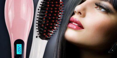 Расчёска Fast Hair Straightener с выпрямителем