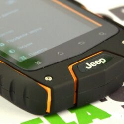 Смартфон Jeep Z6 IP68 - обзор на защищённый телефон