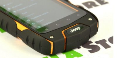 Смартфон Jeep Z6 IP68 — обзор на защищённый телефон