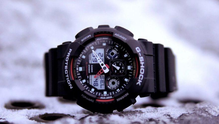 Наручные часы Casio G-Shock - модные спортивные часы для мужчин