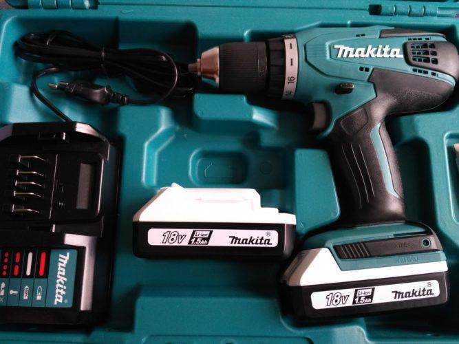Аккумуляторный шуруповёрт Makita DF457DWE - обзор и отзывы